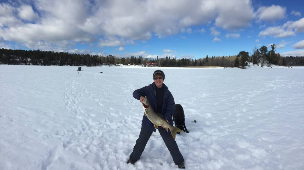 More winter at vbl and a flashback to summer for Lake vermilion fishing